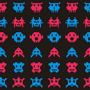 Intel Space Invaders